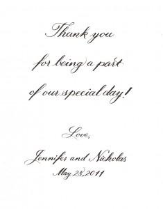 Jen Harmer thank you
