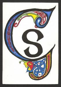 celtic letter G (s)
