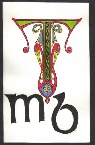 celtic letter T (mb)